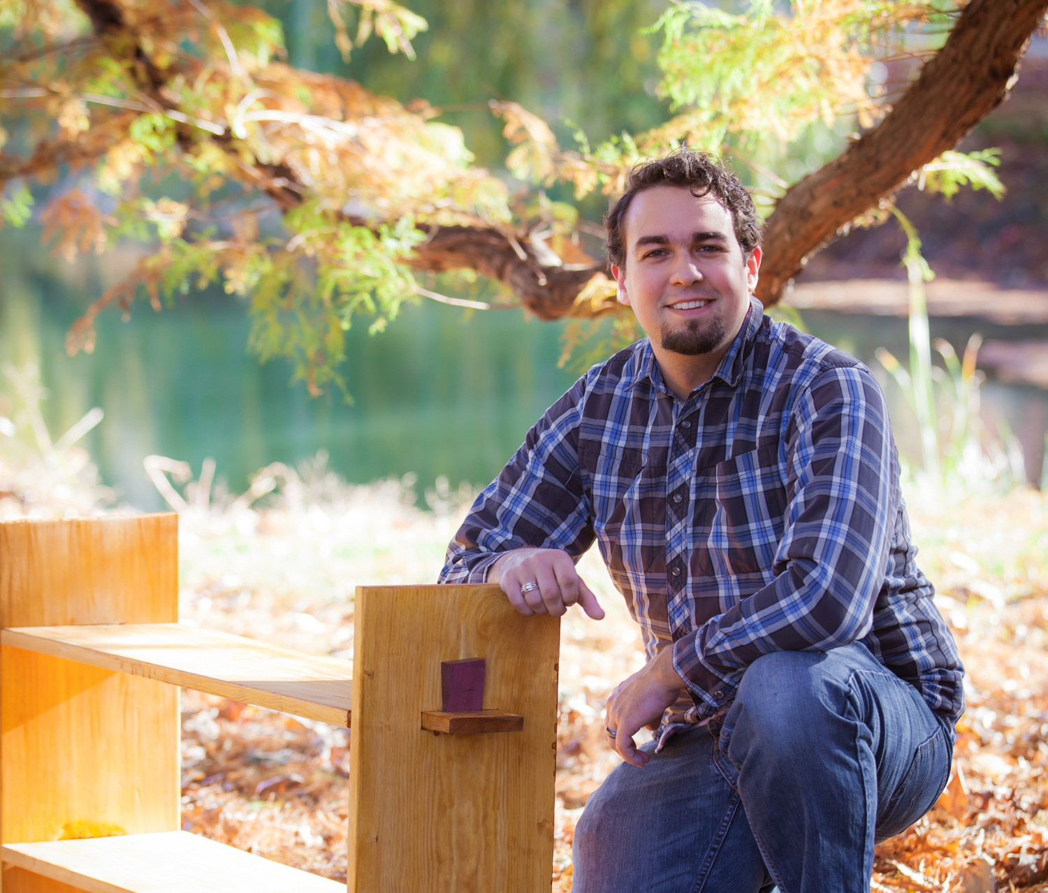 Dan Zehner enjoys woodworking and building custom furniture.